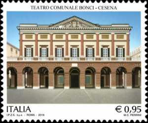 Patrimonio artistico e culturale italiano : Teatro Comunale Bonci - Cesena