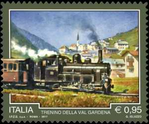 Patrimonio naturale e paesaggistico   :  Il trenino della Valgardena