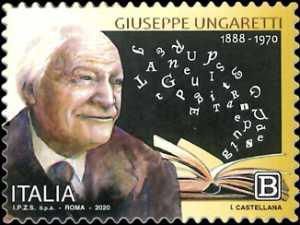 Patrimonio artistico e culturale  italiano : Giuseppe Ungaretti - 50° Anniversario della scomparsa