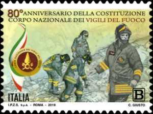 Corpo Nazionale dei Vigili del Fuoco - 80° Anniversario della costituzione