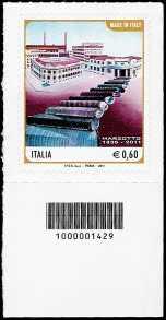 Italia 2011 - Made in Italy - Marzotto - codice a barre n° 1429