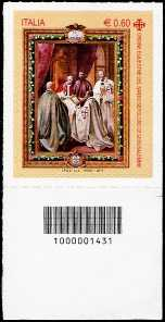 Italia 2011 - Ordine Equestre del Santo Sepolcro di Gerusalemme - codice a barre n° 1431