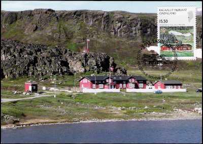 Centenario della realizzazione della base artica di Ukioq nella Groenlandia occidentale
