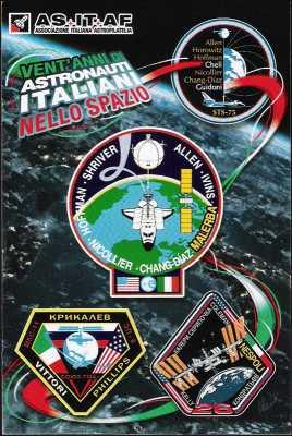 Associazione Italiana di Astrofilia - Vent'anni di Astronauti Italiani nello Spazio - 119^  Veronafil