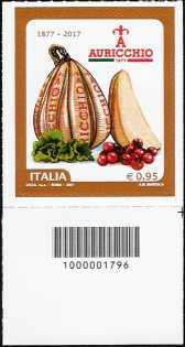 Gennaro Auricchio - francobollo con codice a barre n° 1796