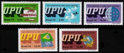 XVIII Congresso della Unione Postale Universale a Rio de Janeiro