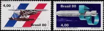 Cinquantenario del dirigibile Graf Zeppelin e della prima trasvolata aerepostale dell'atlantico