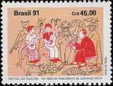 Brasile 1991 - Centenario della nascita di Leonardo Mata