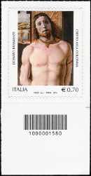 2014 - Patrimonio artistico e culturale italiano - 5° Centenario della morte del Bramante - codice a barre n° 1580