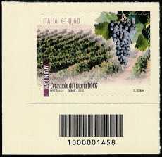 Italia 2012 - I Vini Italiani DOCG - codice a barre n° 1458
