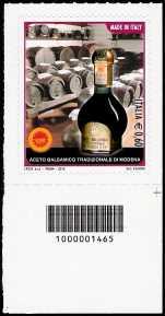 Italia 2012 - Aceto balsamico tradizionale di Modena - codice a barre n° 1465