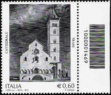 Italia 2012 - Cattedrale di Trani - codice a barre n° 1469