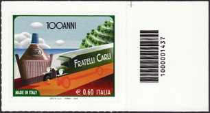 Italia 2011 - Made in Italy - Oleificio Fratelli Carli - codice a barre n° 1437