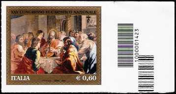 25º Congresso Eucaristico Nazionale - codice a barre n° 1423