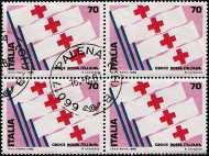1980 - 1ª Mostra internazionale del francobollo della Croce Rossa