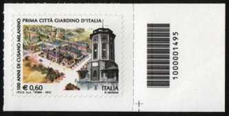 Prima Città Giardino d'Italia - Cusano Milanino - codice a barre n° 1495