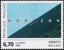 Francia  1996 - Arte - Dibbets