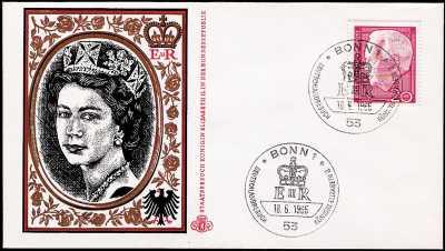 Visita di Stato della Regina Elisabetta II nella Repubblica Federale tedesca - 18.05.1965