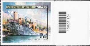 Europa - 1,00 - Castello Scaligero - Malcesine