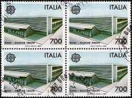 1987 - Europa  - Architettura - Stazione Termini - Roma