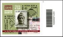Italia 2011 - Giornata della filatelia - codice a barre n° 1433