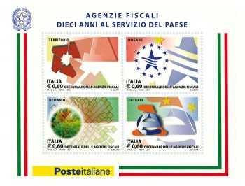 Italia 2011 - 10º anniversario delle agenzie fiscali