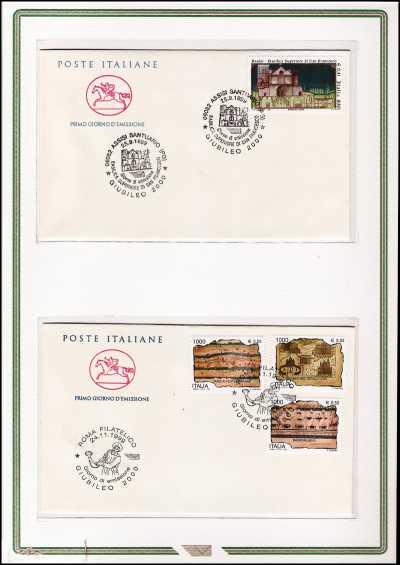 Italia 1999 - Preparazione al Giubileo del 2000 - folder