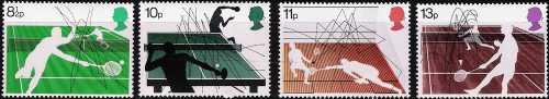 Gran Bretagna 1977 - Gli sport della racchetta