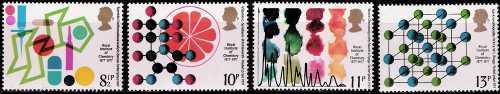 Gran Bretagna 1977 - Centenario dell'Istituto Reale di Chimica