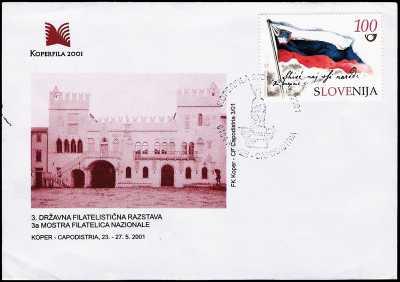 3° Mostra Filatelica Nazionale - Capodistria  23/27.05.2001