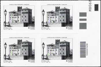 2015 -  Castello Malatestiano di Longiano - quartina con codice a barre n° 1658