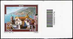 Italia 2012 - Turistica - 39ª serie - Maiori - codice a barre n° 1476