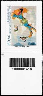 Italia 2011 - Serie Turismo - Manifesto storico dell'Enit  - codice a barre n° 1418