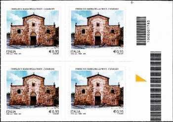 Chiesa di Santa Maria della Croce - Casarano - quartina con codice a barre n° 1783