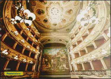 Bicentenario della inaugurazione del Teatro Marrucino di Chieti  - codice a barre n° 1865