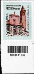 Centenario del terremoto della Marsica - codice a barre n° 1634