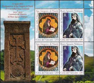 Centenario della morte del beato e martire Ignazio Maloyan e Proclamazione di San Gregorio di Narek Dottore della Chiesa