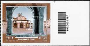 2014 - Turistica - 41ª serie - Monsummano Terme ( PT ) - codice a barre n° 1594