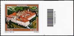 Italia 2012 - Turistica - 39ª serie - Montecassino - codice a barre n° 1475