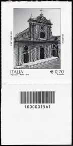 2013  - Patrimonio artistico e culturale italiano : Cattedrale di Nardò - codice a barre n° 1561