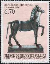 Francia 1996 - Arte - Il tesoro di Neuvy