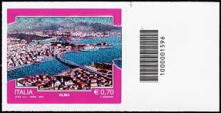 2014 - Turistica - 41ª serie - Olbia - codice a barre n° 1596