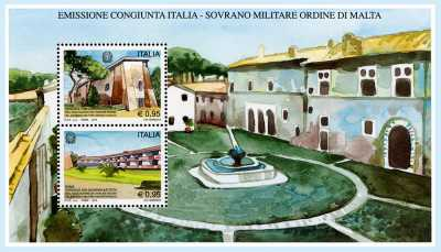 Ospedale San Giovanni Battista a Roma - Emissione congiunta con il Sovrano Ordine Militare di Malta