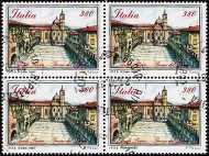 1987 - Piazze d'Italia - 1ª serie - Piazza del Popolo Ascoli Piceno