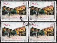 1987 - Piazze d'Italia - 1ª serie - Piazza dei Signori  a Verona