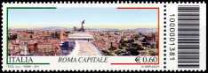 Italia 2011 - «Roma capitale» - 5ª serie - codice a barre n° 1381