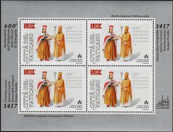 600° Anniversario della diocesi di Samogizia - minifoglio