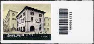 2014 -  Le eccellenze del sapere  : Collegio Tulliano di Arpino - codice a barre n° 1583