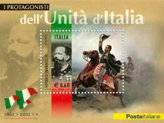 Italia 2011 - Protagonisti dell'unità d'Italia - Vittorio Emanuele II