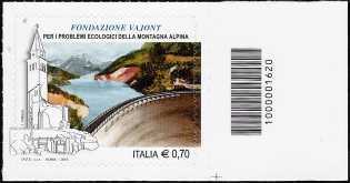 Fondazione Vajont per i problemi ecologici della montagna alpina - codice a barre n° 1620